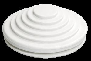 Сальник d=25мм (Dотв.бокса 32мм) белый IEK