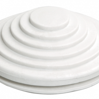 Сальник d=32мм (Dотв.бокса 37мм) белый IEK