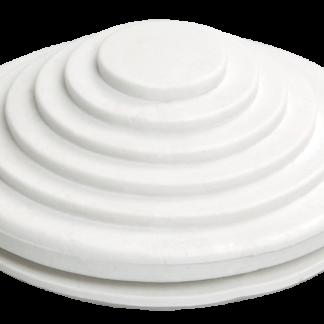 Сальник d=20мм (Dотв.бокса 22мм) белый IEK