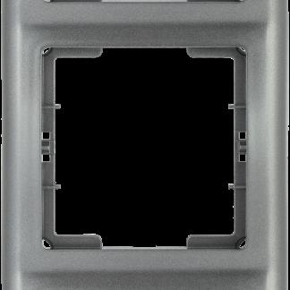 Рамка 3-местная вертикальная РB-3-БА BOLERO антрацит IEK