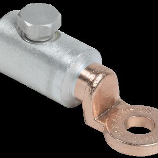 Алюминиевый механический наконечник со срывными болтами АМН 35-150 до 35кВ IEK