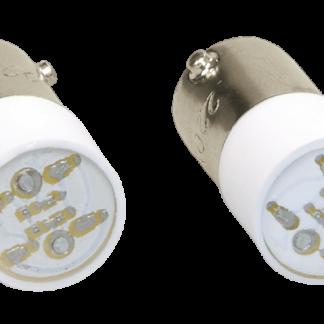 Лампа сменная зеленая матрица/230В IEK