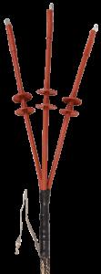 Муфта кабельная КНтп-10 3х35/50 б/н ППД бумажная изоляция IEK