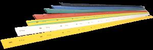 Трубка термоусаживаемая ТТУ 1/0,5 желтая (1м) IEK