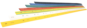 Трубка термоусаживаемая ТТУ 4/2 желтая (1м) IEK