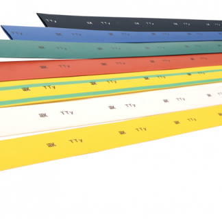Трубка термоусаживаемая ТТУ 1/0,5 желто-зеленая (1м) IEK
