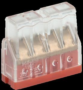 Строительно-монтажная клемма СМК 772-204 компактная (4шт/упак) IEK