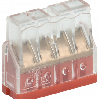 Строительно-монтажная клемма СМК 772-204 компактная IEK