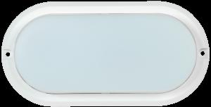 Светильник светодиодный ДПО 4011 8Вт IP54 4000K овал белый IEK