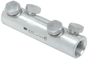 Алюминиевая механическая гильза со срывными болтами АМГ 240-300 до 1кВ IEK