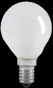 Лампа накаливания G45 шар матовая 60Вт E14 IEK