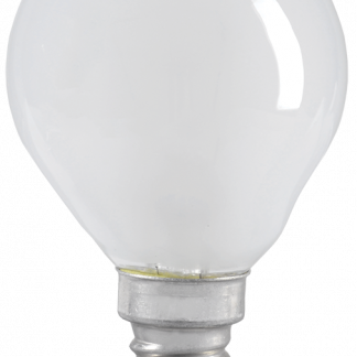 Лампа накаливания G45 шар матовая 40Вт E14 IEK