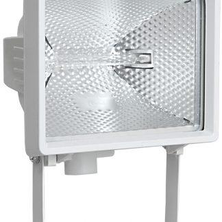 Прожектор галогенный ИО500 IP54 белый IEK