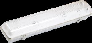 Светильник ЛСП3901А ABS/PS 2х18Вт IP65 IEK