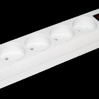 Удлинитель У5К-выкл. 5 мест 2Р/3метра 2х0,75мм2 10А/250 ИЭК