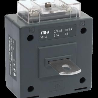 Трансформатор тока ТТИ-А 50/5А 10ВА класс 0,5 IEK