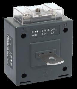 Трансформатор тока ТТИ-А 120/5А 10ВА класс 0,5 IEK
