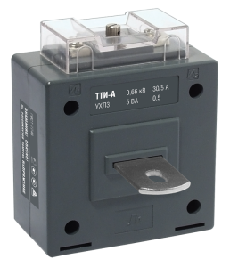 Трансформатор тока ТТИ-А 500/5А 10ВА класс 0,5 IEK