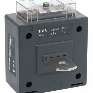 Трансформатор тока ТТИ-А 75/5А 5ВА класс 0,5 IEK