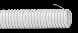 Труба гофрированная ПВХ d=25мм с зондом (50м) IEK