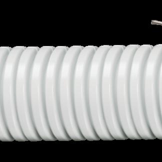 Труба гофрированная ПВХ d=20мм с зондом (10м) IEK