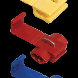 Зажим-ответвитель ЗПО-1 0,5-1,5мм2 красный (100шт) IEK