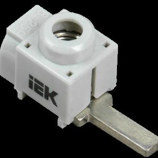 Клемма вводная для модульного оборудования КВМ 4-25мм (прямой ввод) IEK