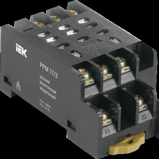 Разъем розеточный модульный РРМ78/3(PYF11A) для РЭК78/3(MY3) IEK