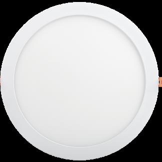 Светильник светодиодный ДВО 1610 круг 24Вт 6500K IP20 белый IEK