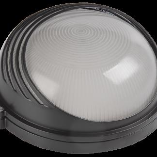 Светильник НПП1307 круг ресничка 60Вт IP54 белый IEK
