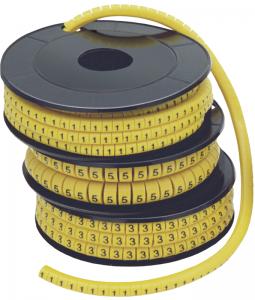 """Маркер кабельный МК0- 1,5мм символ """"5"""" (1000шт/упак) IEK"""