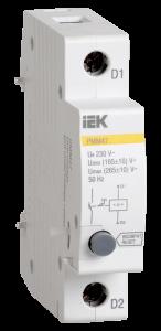 Расцепитель минимального/максимального напряжения РММ47 новая серия на DIN-рейку IEK