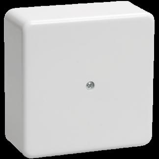 Коробка распаячная КМ41222 для о/п 100х100х44мм белая (6 клемм 6мм2) IEK