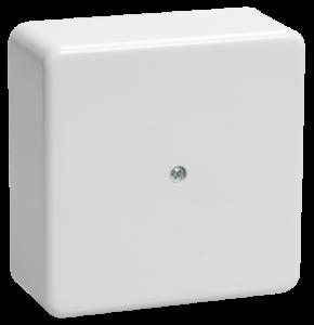 Коробка распаячная КМ для о/п 75х75х28мм белая IEK