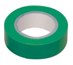Изолента 0,18х19мм зеленая 20м ИЭК