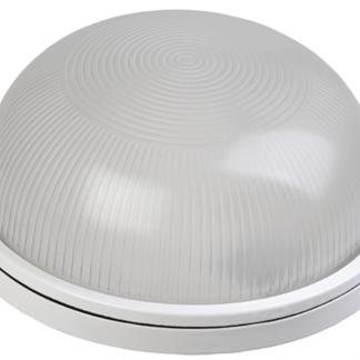 Светильник НПП1101 круг 100Вт IP54 белый IEK