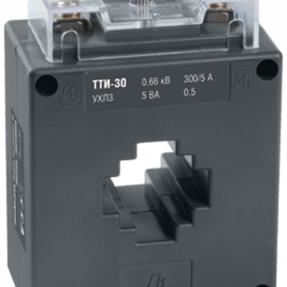 Трансформатор тока ТТИ-30 250/5А 5ВА класс 0,5 IEK