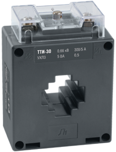Трансформатор тока ТТИ-30 150/5А 5ВА класс 0,5 IEK