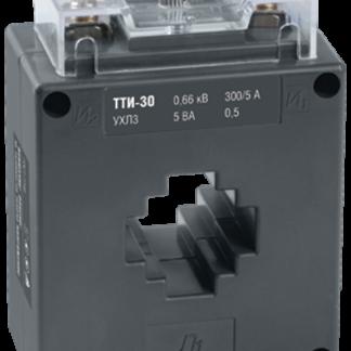 Трансформатор тока ТТИ-30 300/5А 5ВА класс 0,5 IEK