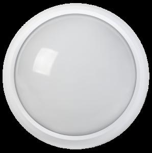 Светильник светодиодный ДПО 5030 12Вт 4000K IP65 круг белый IEK