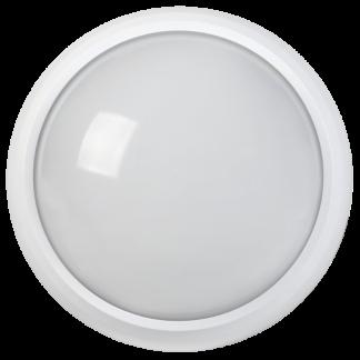 Светильник светодиодный ДПО 3010Д 8Вт 4500K IP54 круг белый пластик с датчиком движения IEK