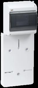 Панель для установки счетчика ПУ1/2-6 1-фазн. с боксом для автоматов модульных серий (6 мод.) с прозрачной крышкой (149х420х30мм) IEK