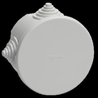 Коробка распаячная КМ41237 для о/п d75х40мм IP44 (RAL7035, 4 гермоввода) IEK