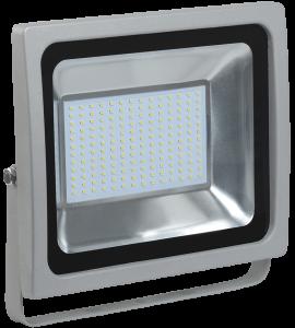 Прожектор светодиодный СДО 07-100 IP65 серый IEK