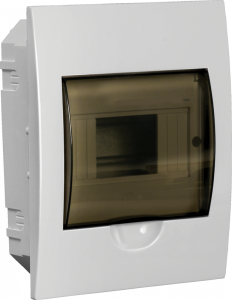 Бокс ЩРВ-П-6 модулей встраиваемый пластик IP41 LIGHT IEK