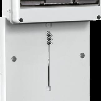 Панель для установки счетчика ПУ3/2-8 3-фазн. с боксом для автоматов модульных серий (8 мод.) (200x465x64мм) IEK