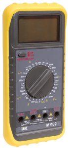 Мультиметр цифровой Professional MY62 IEK