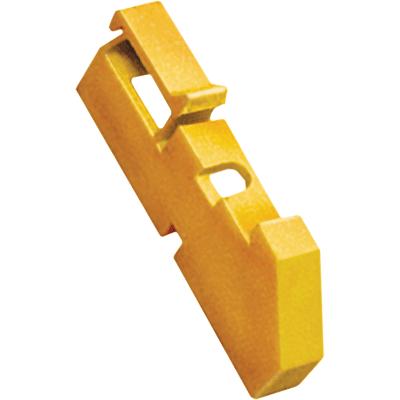 Изолятор DIN желтый (120шт) IEK