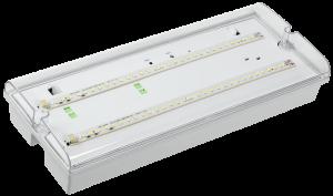 Светильник аварийный ДПА 5042-3 постоянного/непостоянного действия 3ч IP65 IEK