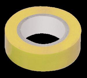 Изолента 0,18х19мм желтая 20м ИЭК